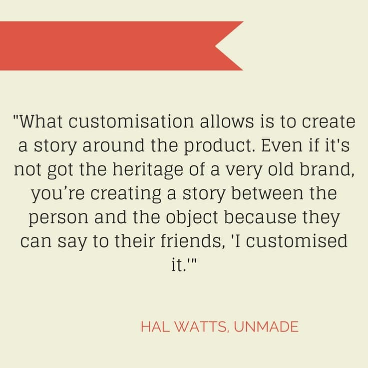 Unmade - Customisation