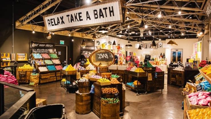 Store across clienta retail nude