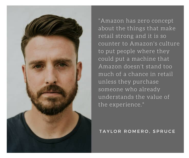Sprucebot - Taylor Quote