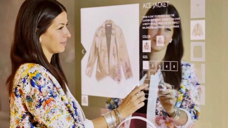 Rebecca Minkoff Smart Mirror - IoT