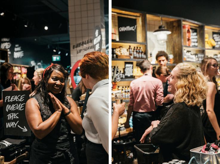 Lush staff empowerment customer experience
