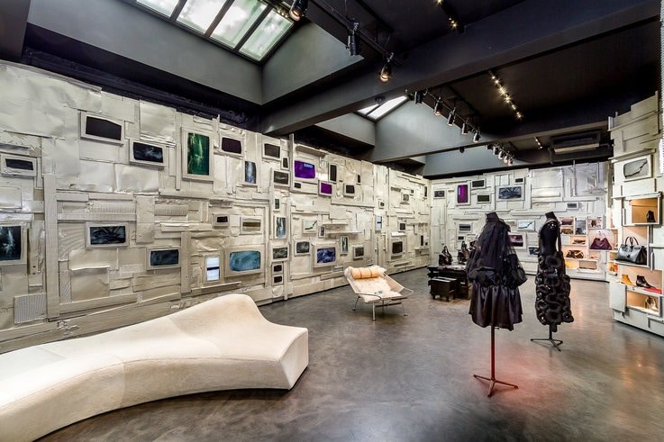 L'eclaireur luxury retail store