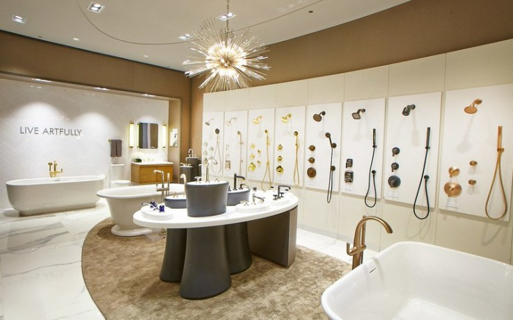 Kohler physical store retail experience