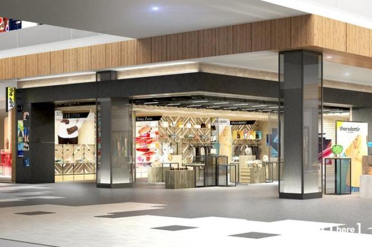 pop-up retail concept The Edit @ Roosevelt Field