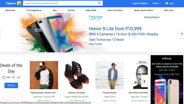Flipkart - ecommerce marketplaces