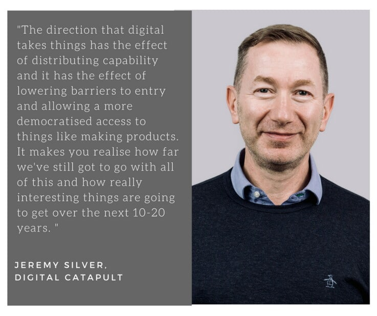 Digital Catapult- Jeremy Silver quote