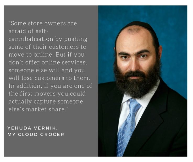 Yehuda Vernik, My Cloud Grocer