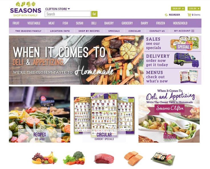 ecommerce grocery shopping
