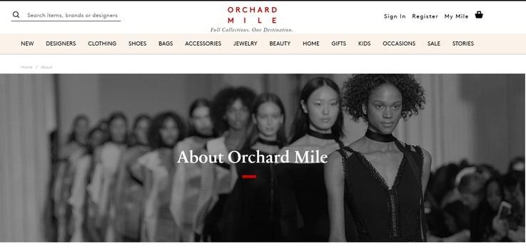 Orchard Mile luxury fashion retail