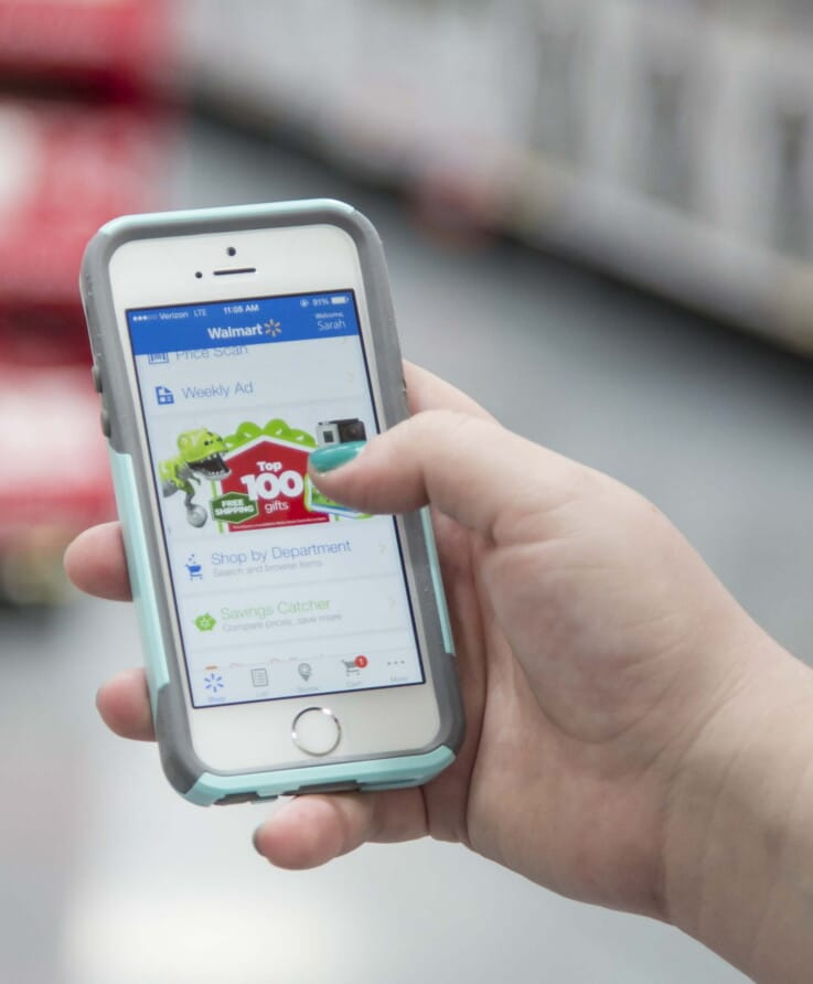 Walmart - Mobile Commerce Initiatives