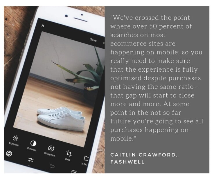 Fashwell - Caitlin Quote