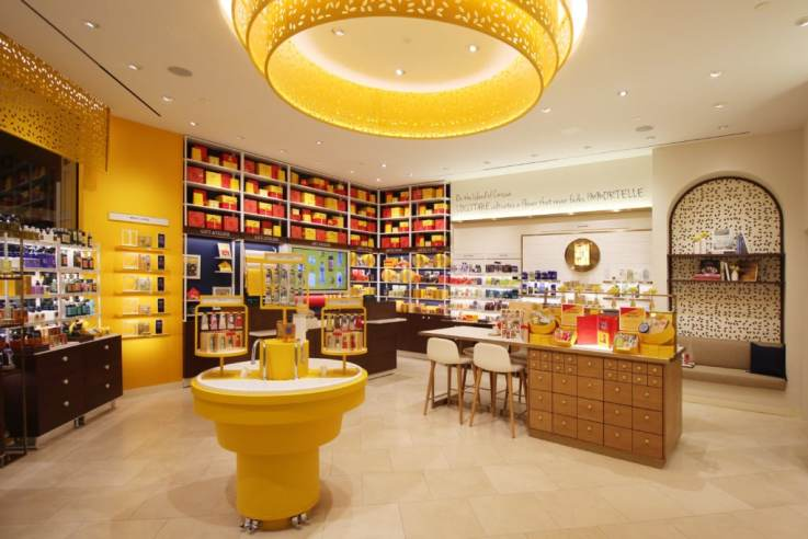 L'Occitane Somerset Collection Troy store design