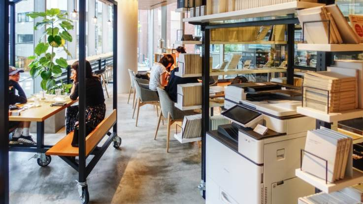 retail experience coffee shop