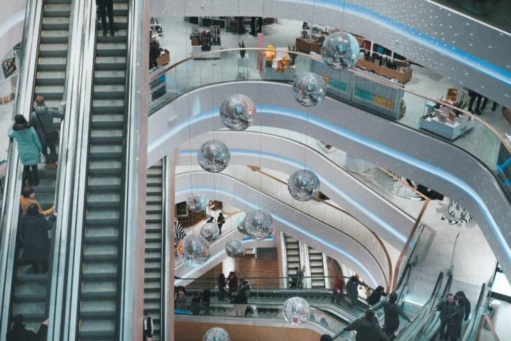 shopping centre of the future