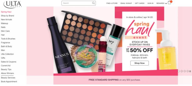 Ulta Beauty retail success US
