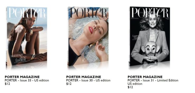 Porter magazine retail strategy