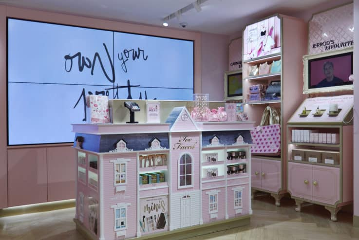 too faced retail experience