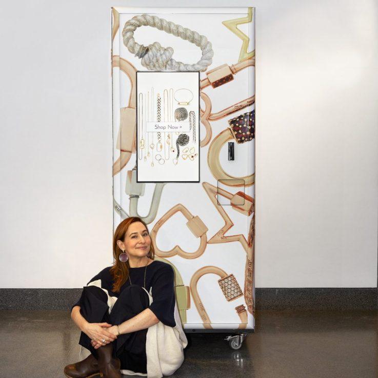 Marla Aaron vending machine