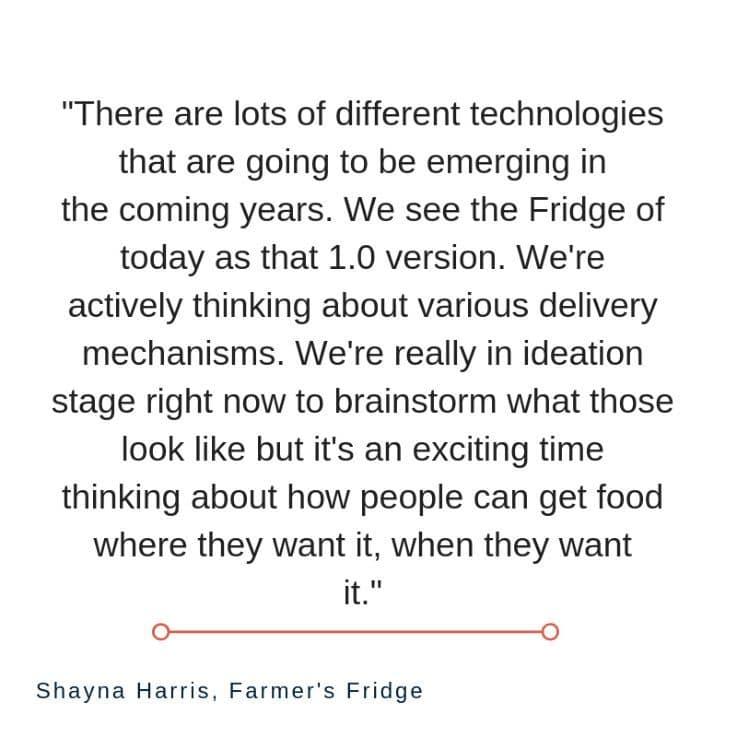 Farmer's Fridge – Food Retail Innovation