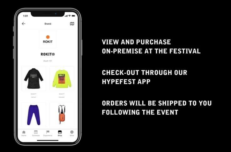 Hypefest – Shoppable Festival