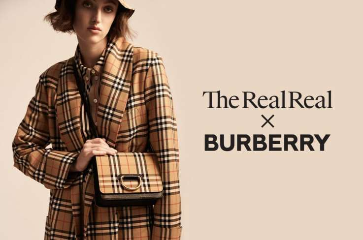 The RealReal x BURBERRY