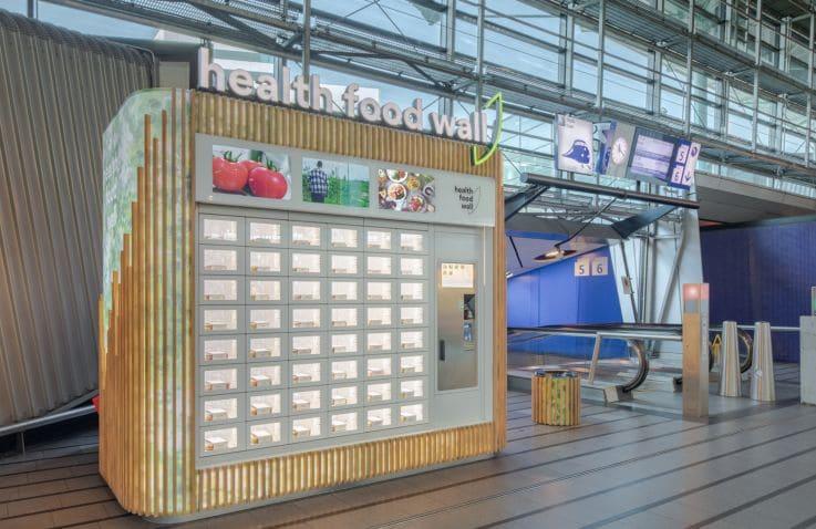 Health Food Wall – Fast Food Innovation