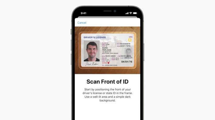 apple wallet id card