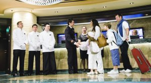 Cruise Ship Hotel Staff