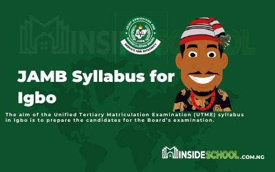 Joint Admissions and Matriculation Board (JAMB) Syllabus for Igbo