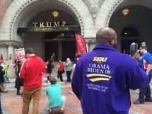 Dc Unions Picket Trump' Capital Hotel
