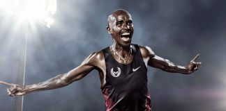 Nike's in motion, 'smiling' tribute to Mo Farah- InsideSport