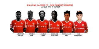 Shillong Lajong signs six foreign players for I-League- InsideSport