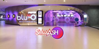 Smaaash,bluO entertainment,PVR,Sachin Tendulkar Smaaash Entertainment,stake in bluo entertainment