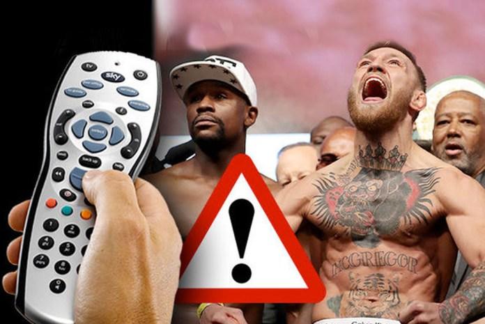 3 million watch Mayweather vs McGregor via 239 illegal streams- InsideSport