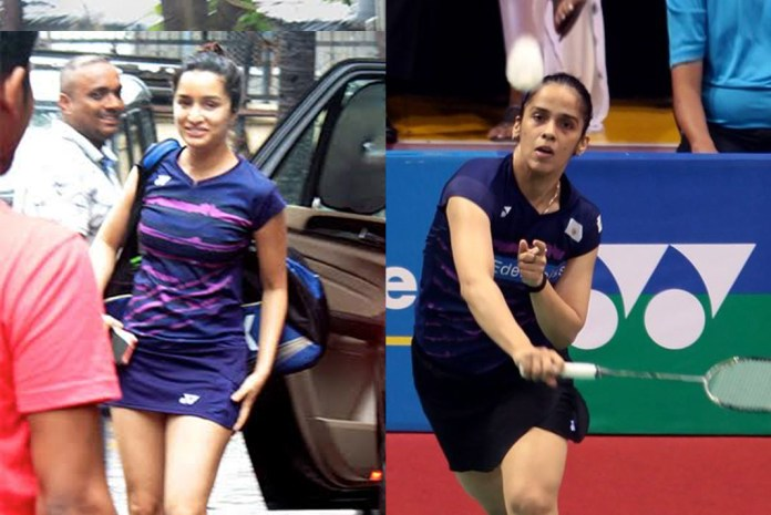 Shraddha Kapoor has got into the Saina Nehwal mode to play the Olympic medallists' and former World No. 1 in the biopic on the latter.