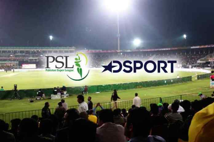 Pakistan Super League has finally got a broadcaster for India. DSport will broadcast the PSL action in India from the third season in 2018.