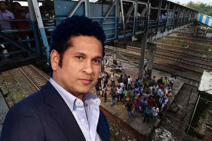 Sachin sanctions fund to revamp rail foot overbridges in Mumbai- InsideSport