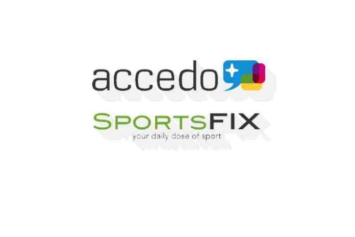 SportsFix & Accedo tie up for live OTT sports feeds