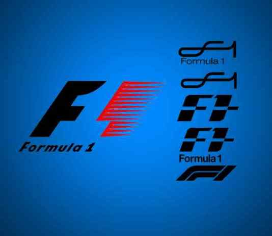 Formula one dropping its Red, Black and White logo?