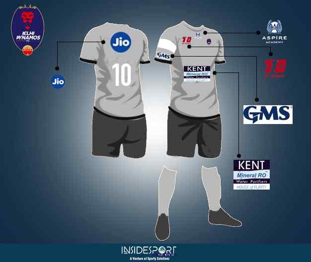 Delhi Dynamos FC sponsors in ISL 4 - InsideSport