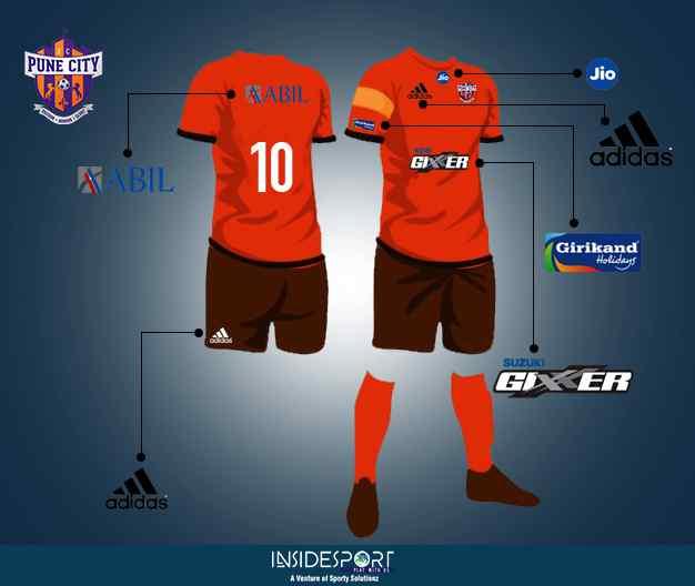 FC Pune City sponsors in ISL 4 - InsideSport