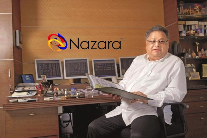 Rakesh Jhuhunjhunwala invests INR 180 Crore in Nazara Technologies - InsideSport