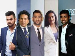 Forbes' list of leading 100 celebs in India,Sports brand icons,PV Sindhu,Sachin Tendulkar,Forbes