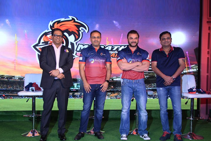 Maratha Arabians Captian Virender Sehwag - InsideSport