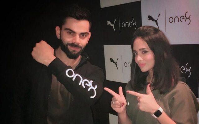 Virat's brand One8 in collaboration with Puma