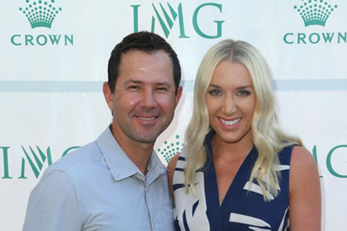 Ricky Ponting at IMG Australian Open Eve Party - InsideSport