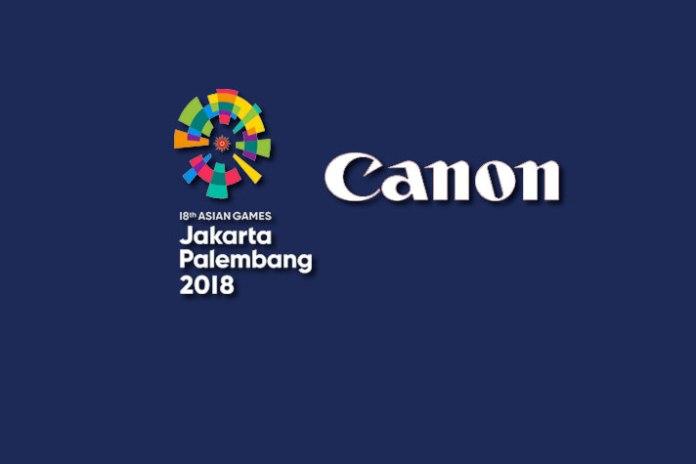 Canon inks sponsorship deal for Asian Games 2018 - InsideSport