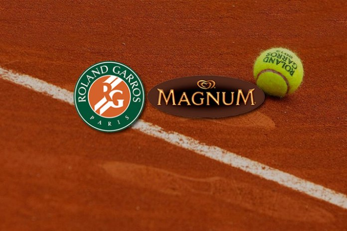 french open partnerships,Magnum partnership with French Open,Unilever-owned ice cream brand Magnum,French Open tennis grand slam,tennis grand slam French Open