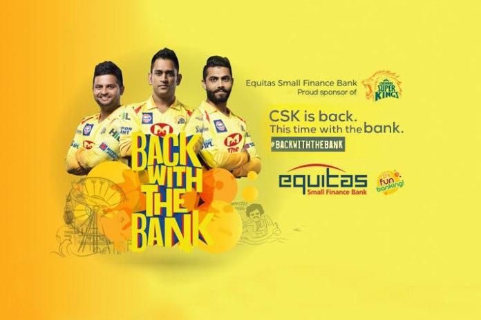 Chennai Super Kings (CSK) signs Equitas Bank as principal sponsor - InsideSport