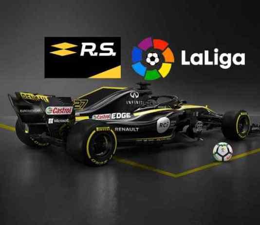 Renault F1 team announces 'innovative' partnership with LaLiga - InsideSport
